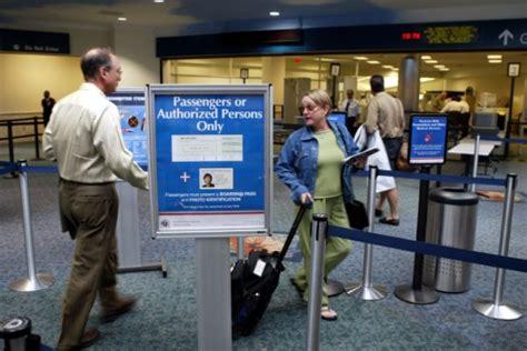tsa s trials a pre screening program for faster airport
