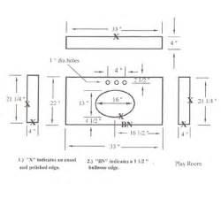 Vanity Top Drawing Cad Drawing Kitchentop Drawing Countertops Drawing Vanity
