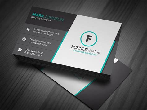 stunning corporate business card template 187 free download