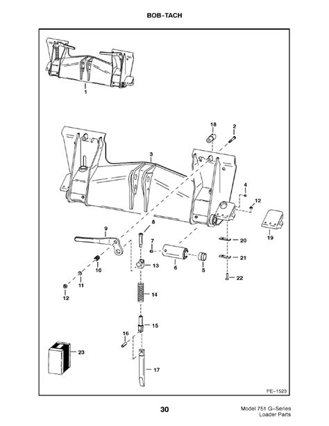 bobcat 763 parts diagram bobcat parts diagram