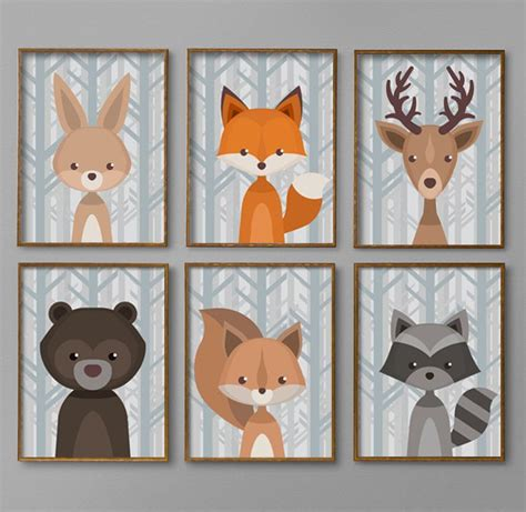 Woodland Creatures Nursery Decor Best 25 Baby Boy Nursery Decor Ideas On Nursery Pictures Baby Room Decor For Boys