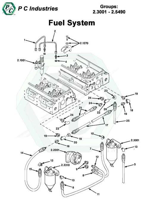 detroit 60 series fuel system diagram fuel system series 92 detroit diesel engines catalog page 84