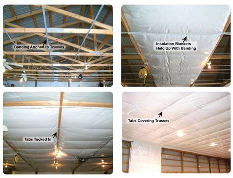 pole barn insulation options how to insulate pole buildings