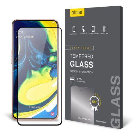 olixar samsung galaxy  tempered glass screen protector