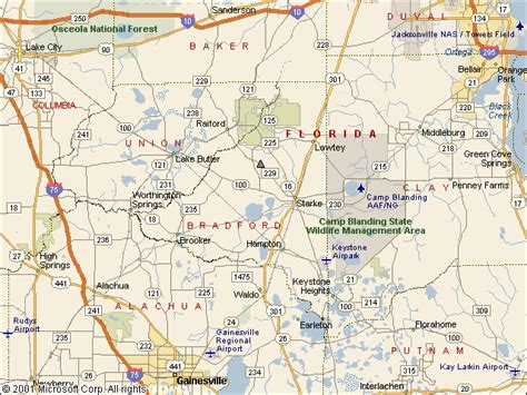 Bradford County Fl Search Usgs Water Resources Of The United States