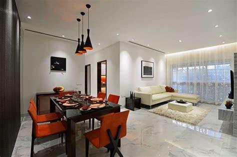 Orange And White Kitchen Ideas modern luxury interior design in india ridgewood by ga design