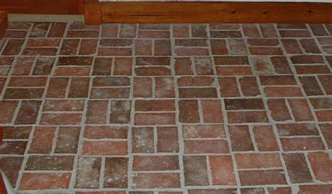 love the brick floors but how does one clean the brick