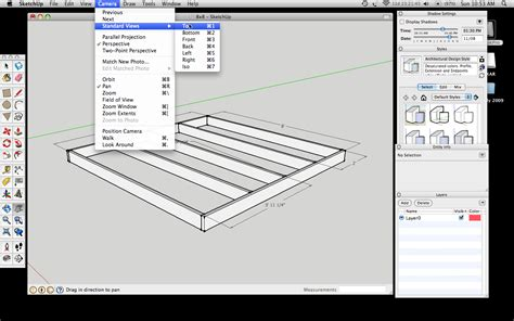 sketchup layout object snap how to draw 2d drawings with google sketchup