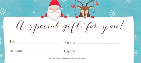 make a gift certificate online and print free 13 photos henfa