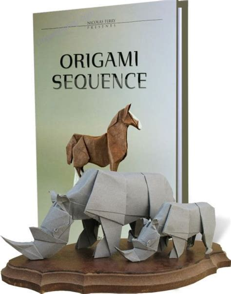 Origami Sequence - books license to fold and origami sequence schemes of