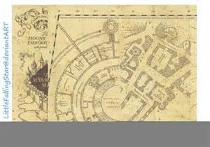 Marauders Map Page 1 By Littlefallingstar On Deviantart Marauders Map Template