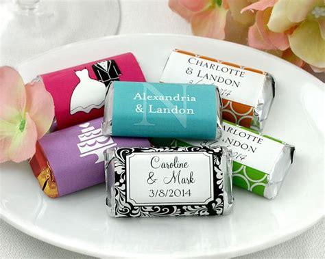 bar bridal shower favors chocolate bar wedding favors