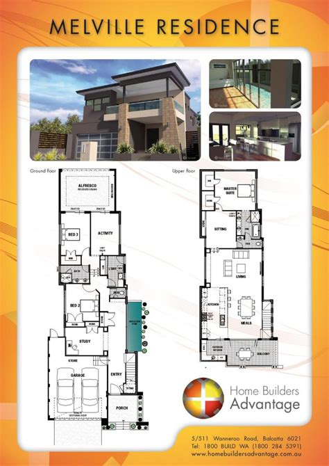 upside down living house plans double storey floor plans by the two storey experts