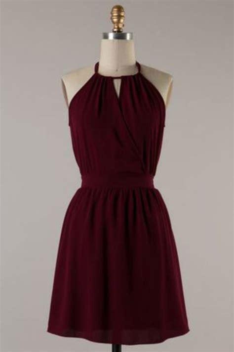 Dress Maroon by Best 25 Maroon Dress Ideas On Maroon Dresses