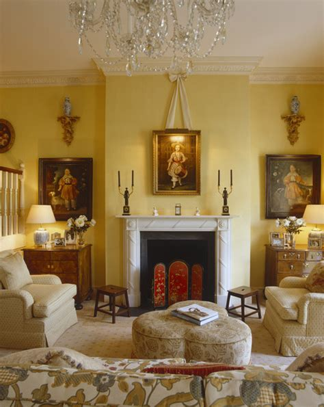 French Chateau Style Homes yellow living room photos 190 of 213 lonny