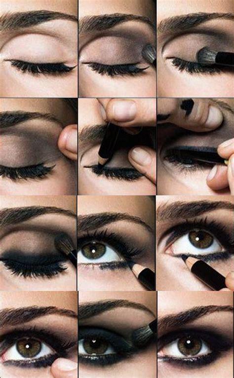 tutorial makeup smokey eyes ojos ahumados paso a paso maquillajes