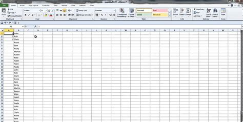 excel tutorial numbering insert number of rows in excel 2010 how to insert