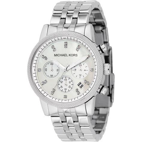 s set silver chronograph mk5020