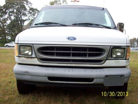 how to work on cars 1997 ford econoline e150 seat position control find used 1997 ford e 150 econoline standard cargo van ladder racks bins white 5 4l in frankford