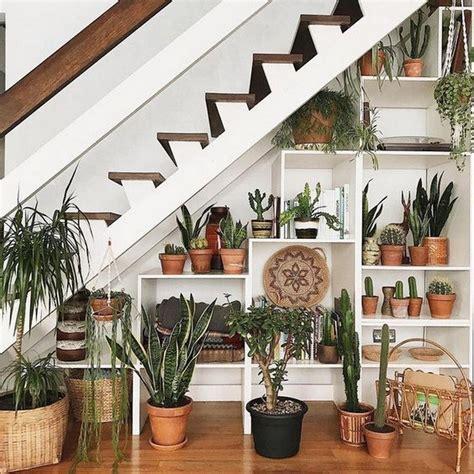 inspiration unique ideas  indoor garden  stairs