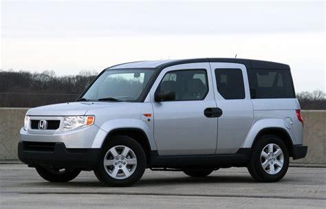 how cars run 2007 honda element parking system honda announces end of element production