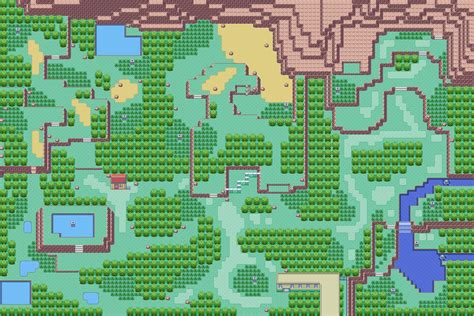 layout of safari zone in fire red pok 233 arth hoenn safari zone