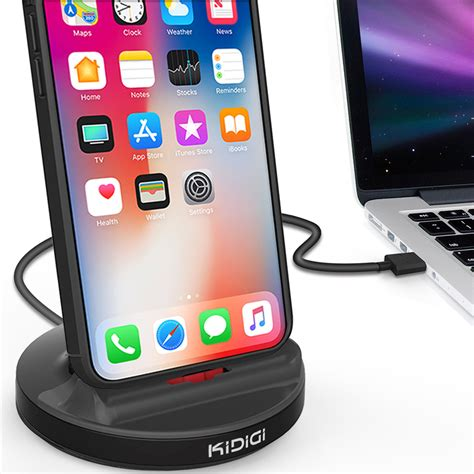 kidigi ready charging stand dock for apple iphone xs max