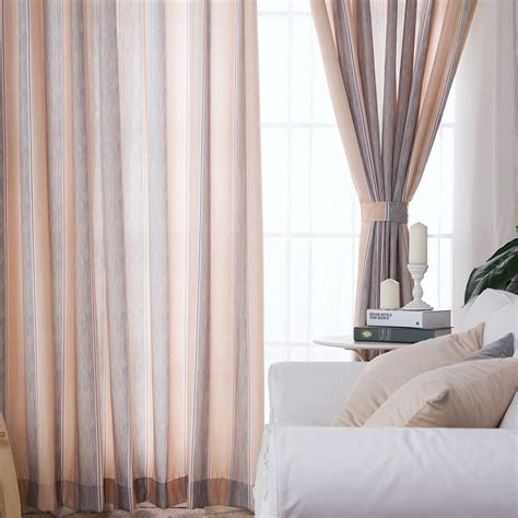 simple living room curtains simple modern style striped curtain for living room
