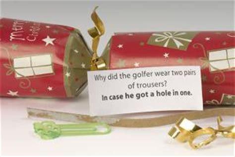 christmas cracker mottos jokes golf sayings kappit