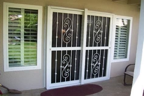 glass door security doors windows patio sliding glass door security
