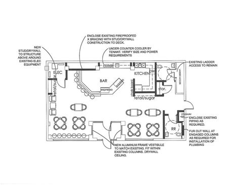 coffee shop floor plan layout coffee shop floor plan the mill pinterest coffee