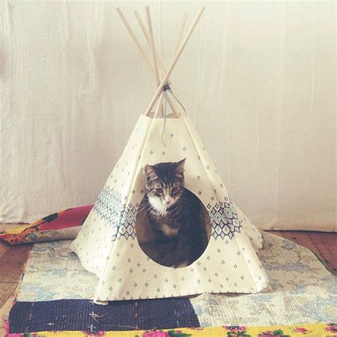 cat tent bed kitty teepee