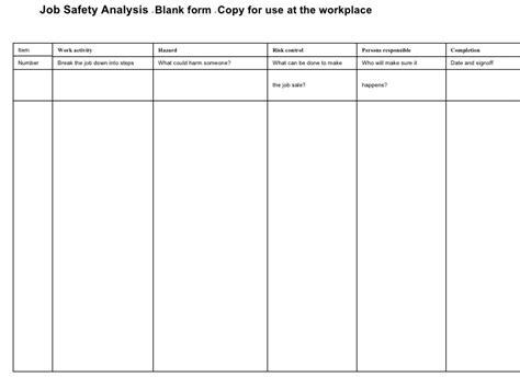 job site analysis template