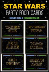 Star Wars Lego Wall Stickers 15 best photos of star wars food label printables star