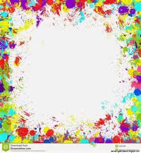 colorful paint splatter border amazing wallpapers