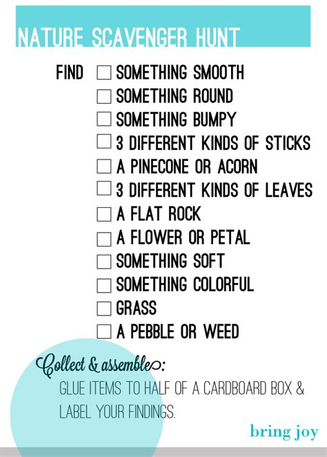 Backyard Scavenger Hunt Ideas 1000 Ideas About Nature Scavenger Hunts On Pinterest Scavenger Hunts Scavenger Hunt For