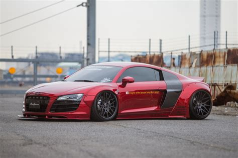 Audi Lb by Foto Tuners Lb Performance Audi R8 Rood R8 Lb Rood 00001