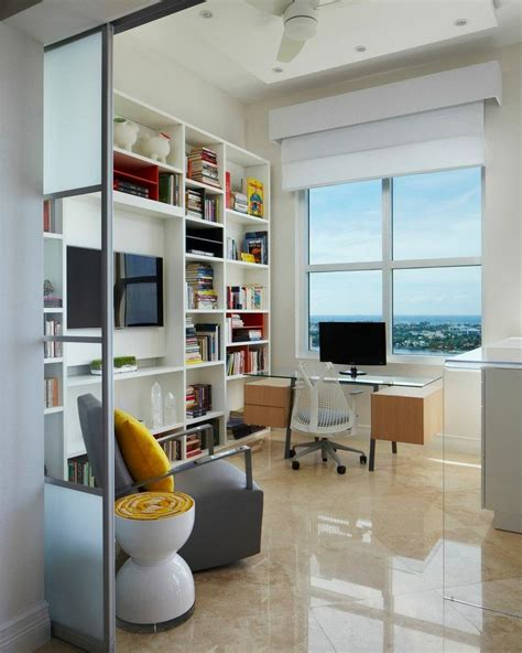 30 modern day home office designs that truly inspire wall unit with desk and tv home office furniture ideas