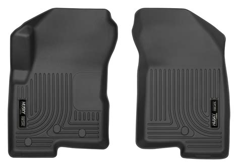 Jeep Compass Mats by 2007 2016 Jeep Compass Patriot Black Weatherbeater 1st Row Floor Mats Husky Ebay