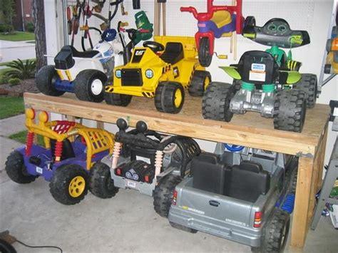 Garage Storage For Power Wheels 1000 Ideas About Power Wheels On Power Wheels