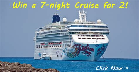 Free Cruise Sweepstakes - 3rd annual cruise holidays facebook cruise giveaway cruisesource