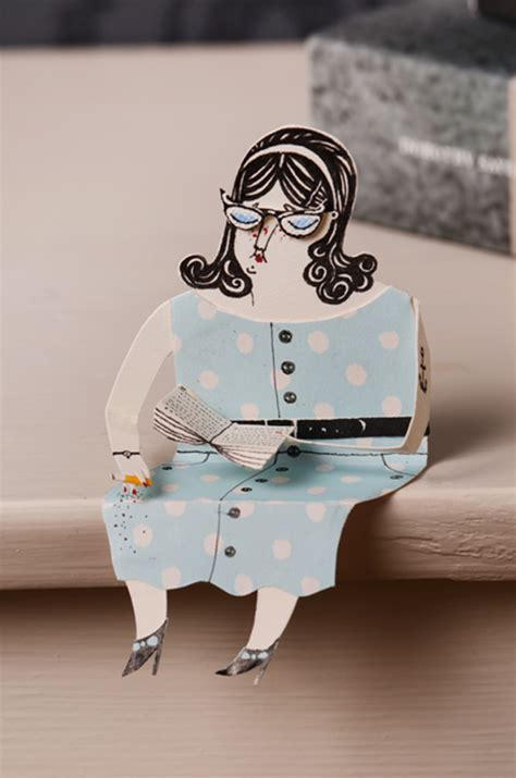How To Make A Paper Person - paper design crush