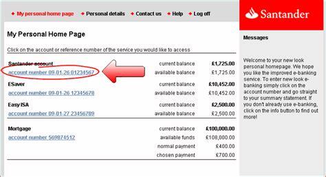 reset online banking details santander e banking demo