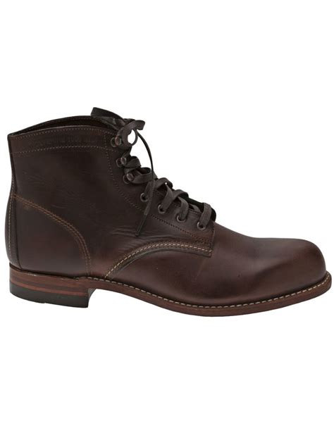 wolverine s boots wolverine 1000 mile boots in brown for lyst
