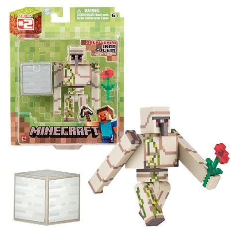 Minecraft Papercraft Target - minecraft population iron golem pack 3 inch figure