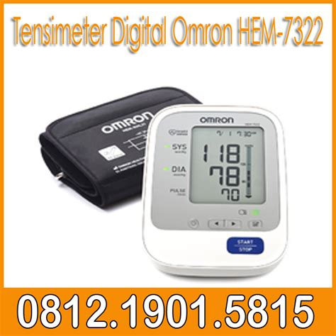 Manset Tensimeter Digital tensimeter digital omron hem 7322