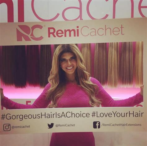 what kind of hair extensions does teresa giudice real housewives of remi cachet with teresa giudice