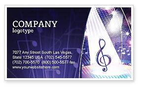 music tune business card template layout download music