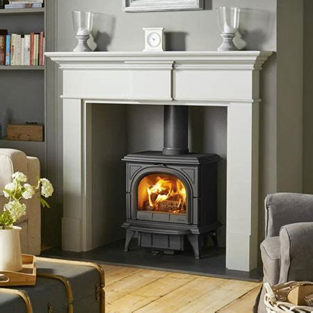Grey Fireplace Surrounds by Wood Surround For Your Home By Pinckney Green