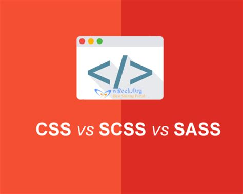 tutorial css sass css vs scss vs sass what is difference between them